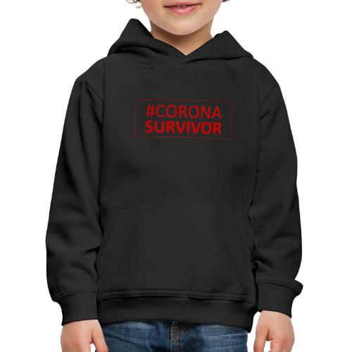 Corona Virus Survivor - Kids' Premium Hoodie