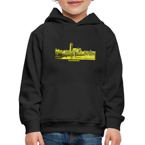 Magdeburg Dom Sachsen-Anhalt Deutschland Elbe - Kinder Premium Hoodie