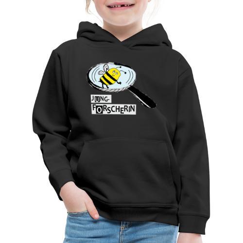 Jungforscherin mit Biene - Kinder Premium Hoodie