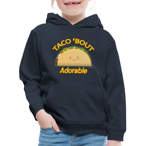 taco - Felpa con cappuccio Premium per bambini