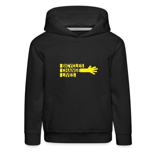 BCL Yellow Hand - Kids' Premium Hoodie