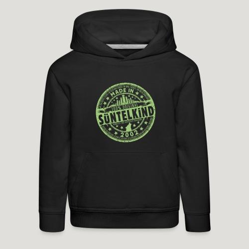 SÜNTELKIND 2002 - Das Süntel Shirt mit Süntelturm - Kinder Premium Hoodie