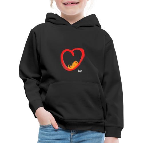 LYD 0003 04 KittyLove - Kinder Premium Hoodie
