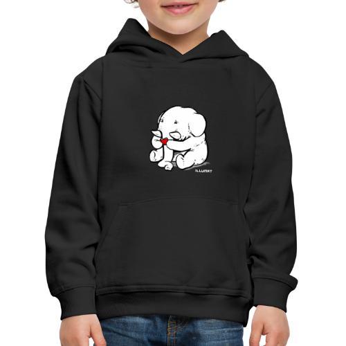 Stef 0002 00 Lesefant - Kinder Premium Hoodie