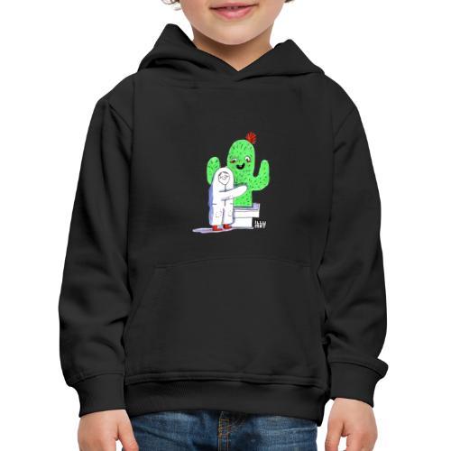 VER 0001 00 Kaktusumarmung - Kinder Premium Hoodie