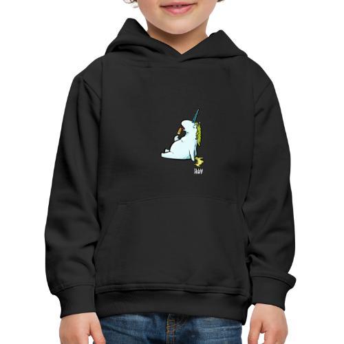 STE 0006 00 Eis Einhorn - Kinder Premium Hoodie