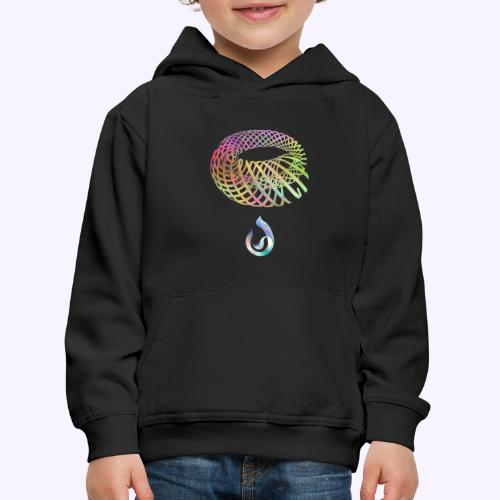 involuzione - Felpa con cappuccio Premium per bambini