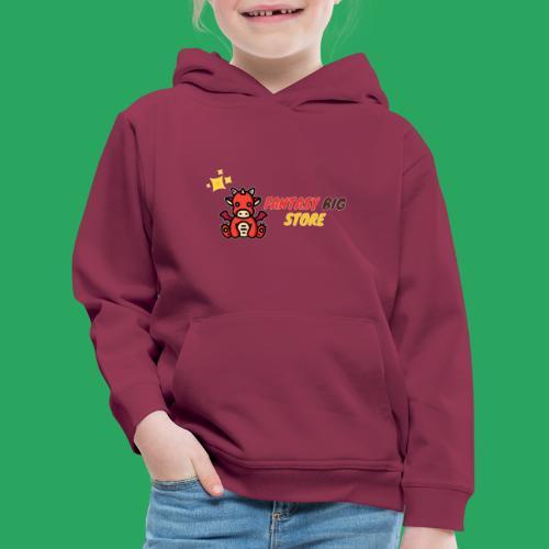 Fantasy big store - Felpa con cappuccio Premium per bambini