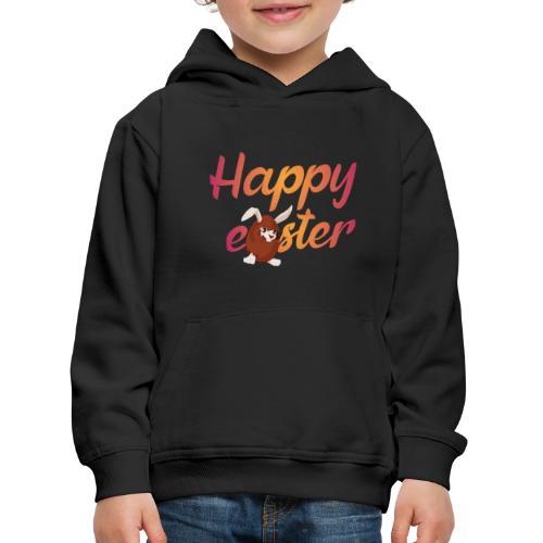 Happy easter - Kinderen trui Premium met capuchon