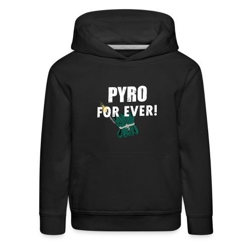 Pyro Silvester Knallfrosch - Kinder Premium Hoodie