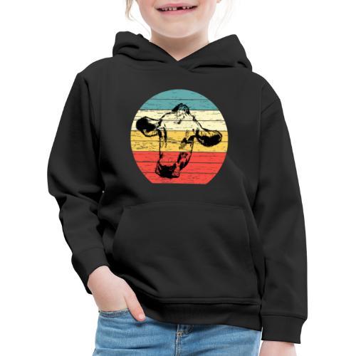 Cow - Kinderen trui Premium met capuchon