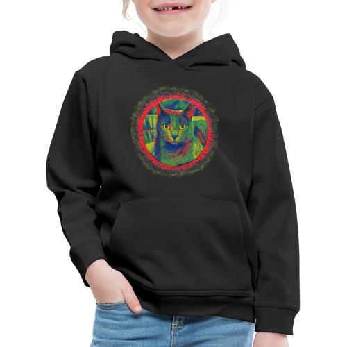 CAT ART AMERA - Kinder Premium Hoodie
