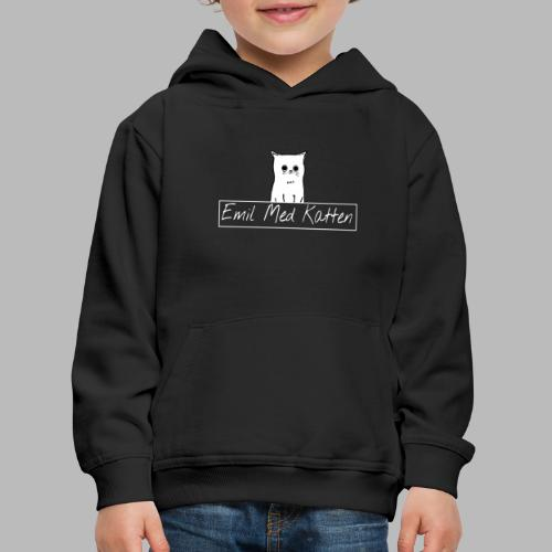 Emil with the cat danish logo - Kids' Premium Hoodie