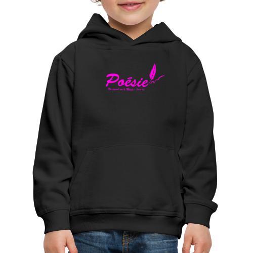 Poésie - Pull à capuche Premium Enfant