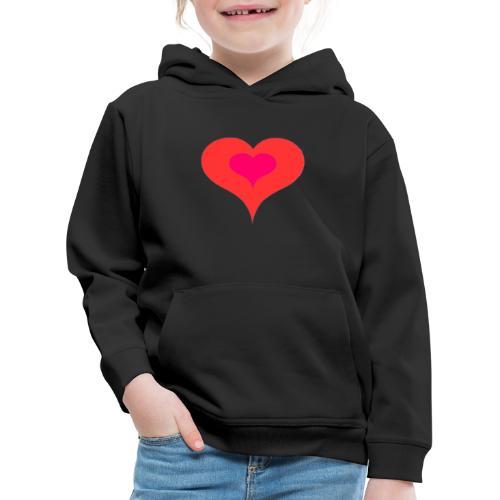 Corazon II - Sudadera con capucha premium niño