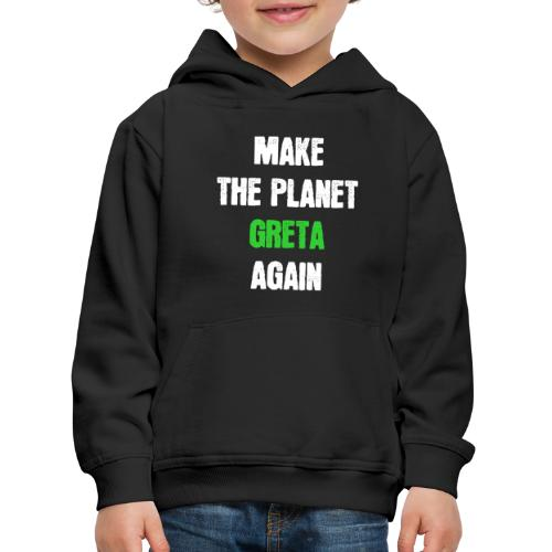Greta Umweltschutz Welt Klimaschutz Klimawandel - Kinder Premium Hoodie