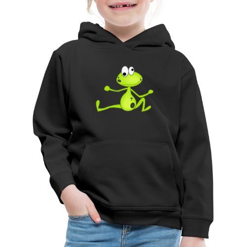Lustiger Frosch - Kinder Premium Hoodie