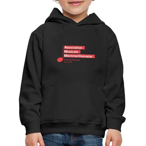 Logo AMM - Pull à capuche Premium Enfant