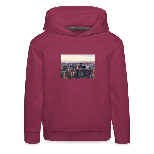 spreadshirt - Pull à capuche Premium Enfant