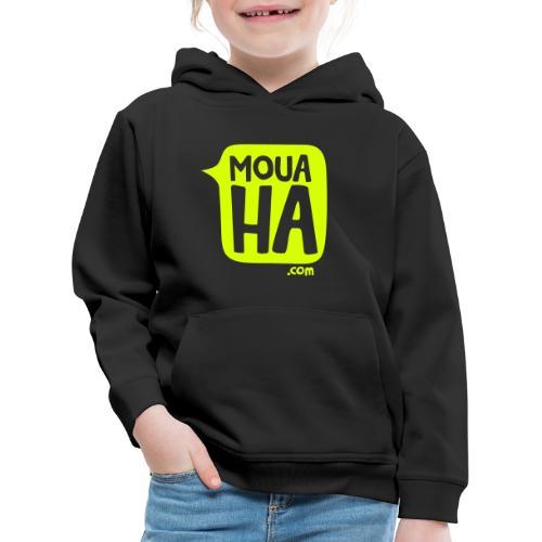 MOUAHA logo - Pull à capuche Premium Enfant