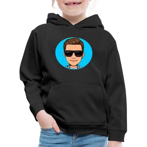 lekkere warme hoodie van mijn yt en ttv logo cool - Kinderen trui Premium met capuchon