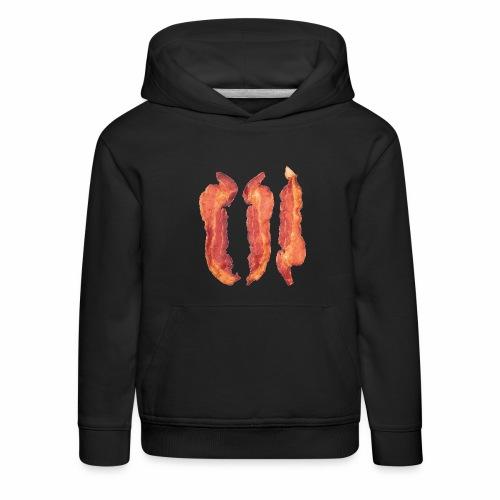 Bacon Strips - Felpa con cappuccio Premium per bambini