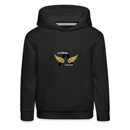 ANGEL INSIDE2-01 - Felpa con cappuccio Premium per bambini
