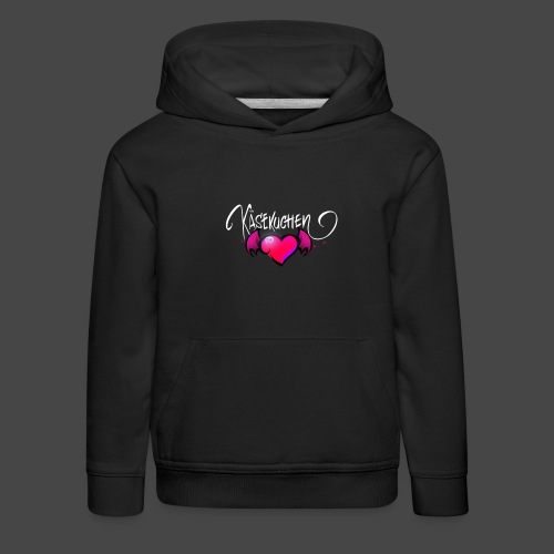 Logo and name - Kids' Premium Hoodie