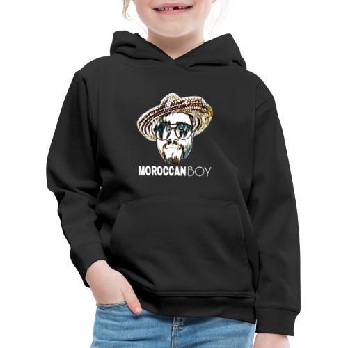 MOROCCAN BOY WHITE - Pull à capuche Premium Enfant