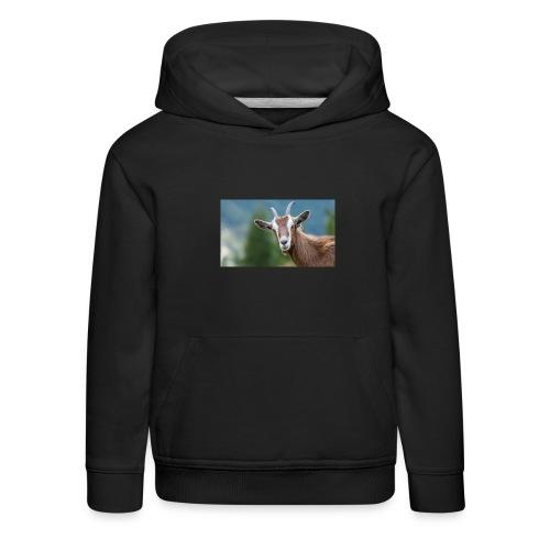 GOAT shirt - Kinderen trui Premium met capuchon
