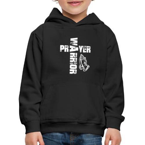 Prayer Warrior White Special - Kinder Premium Hoodie