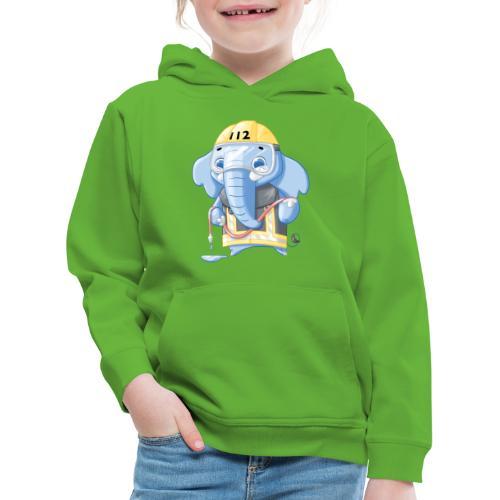 Feuerwehr Elefant - Kinder Premium Hoodie