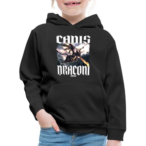 Canis Draconi - Kinderen trui Premium met capuchon