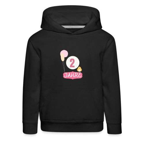 2 Jahre // Geschenk zum 2. Geburtstag - Kinder Premium Hoodie