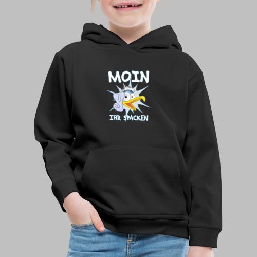 moin ihr spacken möwe geschenkidee - Kinder Premium Hoodie