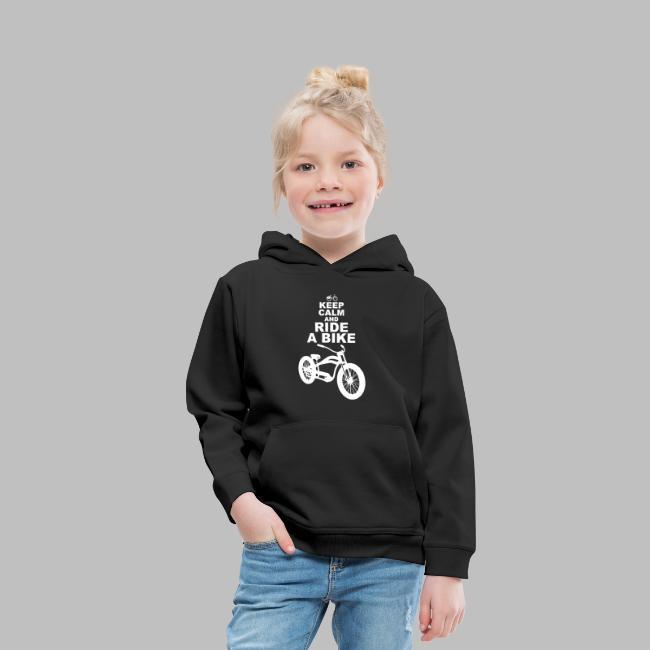 keep Calm and Ride a Bike Geschenkidee
