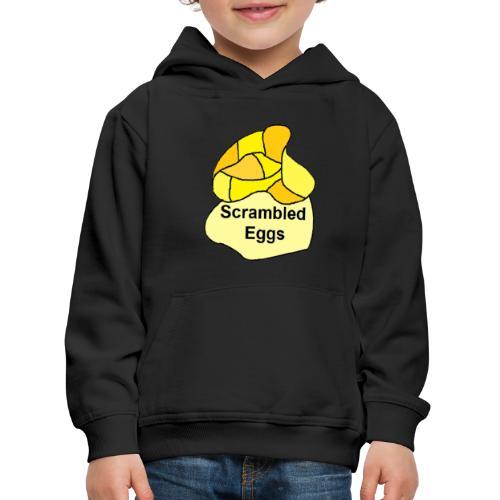 scrambled eggs 3 - Premium hættetrøje til børn