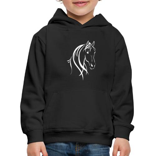 Pferdekopf - Kinder Premium Hoodie