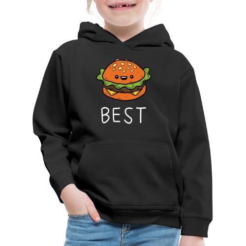Beste Friends Burger und Pommes Partnerlook - Kinder Premium Hoodie