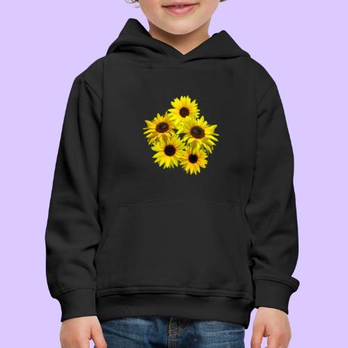 Sonnenblumenstrauss, Sonnenblume, Sonnenblumen - Kinder Premium Hoodie
