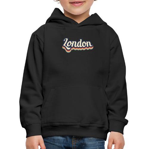 Vintage London Souvenir - Retro London - Kinder Premium Hoodie