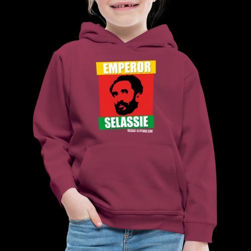 EMPORER SELASSIE red gold green - Kinder Premium Hoodie