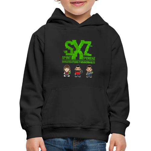 Team SXZ Chibis S3 - Pull à capuche Premium Enfant