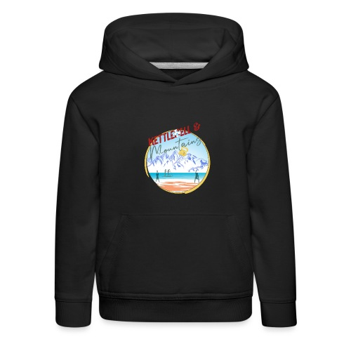 Kettlebell & Mountains - Kinder Premium Hoodie