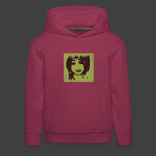 Green brown girl - Kids' Premium Hoodie