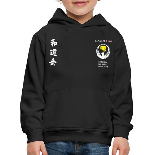 Samurai dojos Kodomokläder - Premium-Luvtröja barn