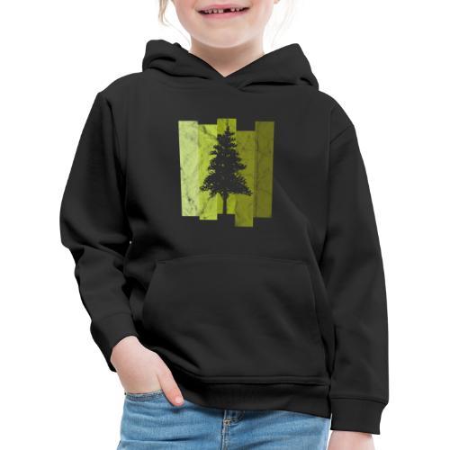 Woid4tla Retro Linien - Kinder Premium Hoodie