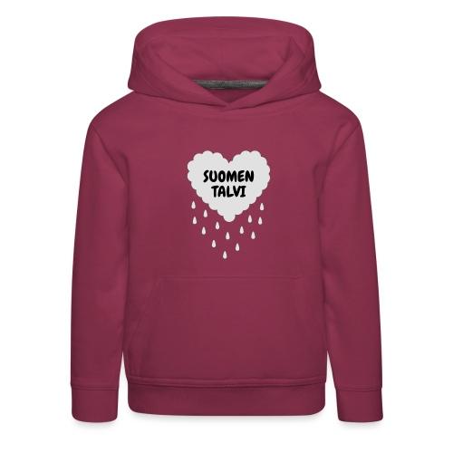 Suomen talvi - Lasten premium huppari