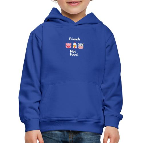 Friends Not Food - Kids' Premium Hoodie