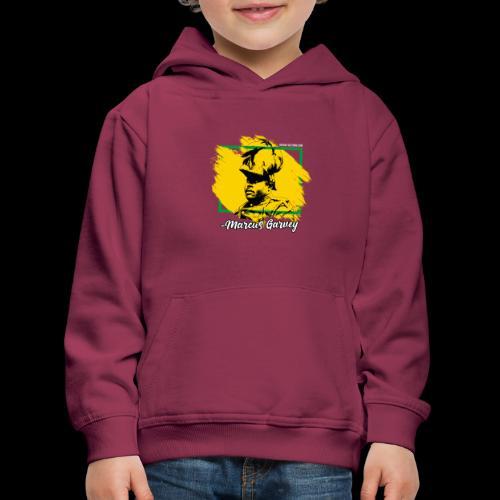 MARCUS GARVEY by Reggae-Clothing.com - Kinder Premium Hoodie